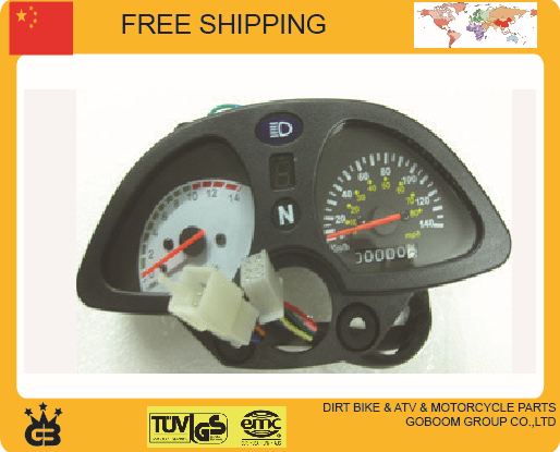 2014 New Modified Motorcycle Odometer Speedometer instrument speedo meter cqr gy zs250gy free shipping