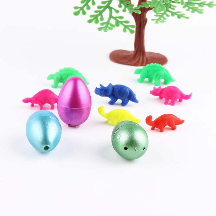 10Pcs/lot small Cute Magic Growing Dino Egg Hatching Dinosaur Add Water Eggs Child Toy Gift<br><br>Aliexpress