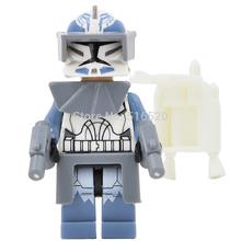 Star Wars 7 Minifigures Wolfpack Clone Trooper Single Sale Building Blocks Starwars Set Model Figures Figures Toys