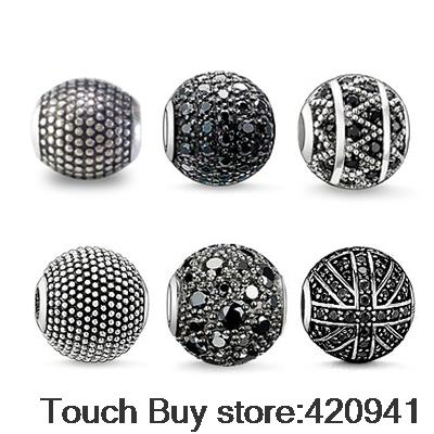 Aliexpress Hot sale Wholesale Black Crystal Beads 10MM Black Micro Pave CZ Crystal Disco Ball Beads european beads charms<br><br>Aliexpress