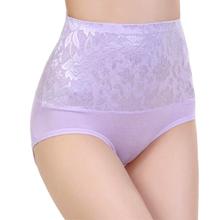 8Color Sexy Women Lace Panties Fashion Designer Body Shaper Hip Abdomen Control Briefs High Waist Underwear Women's Panty(China (Mainland))