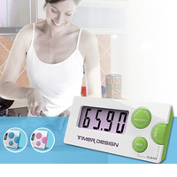 High Quality LCD Display Mini Digital Kitchen Timer Alarm Magnetic Count Down Timer For Sport, Kitchen, Learning