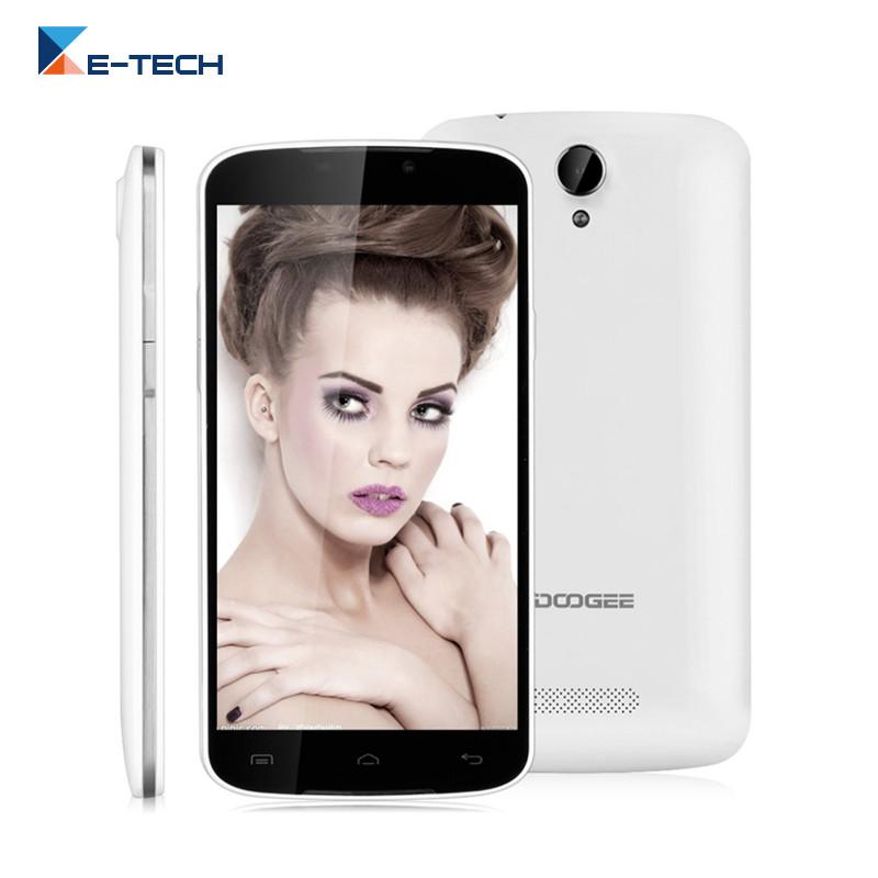 Original Doogee X6 MTK MT6580 Smartphone 5.5 Inch 1280 x 720 1G RAM 8G ROM GPS Dual SIM Card Android 5.1 GSM WCDMA Mobile phone(China (Mainland))