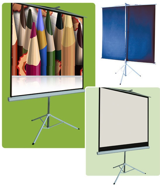 screen 50inches 16:9 screen soft curtain and the truth of the tripod screen/projector/projector screen<br><br>Aliexpress