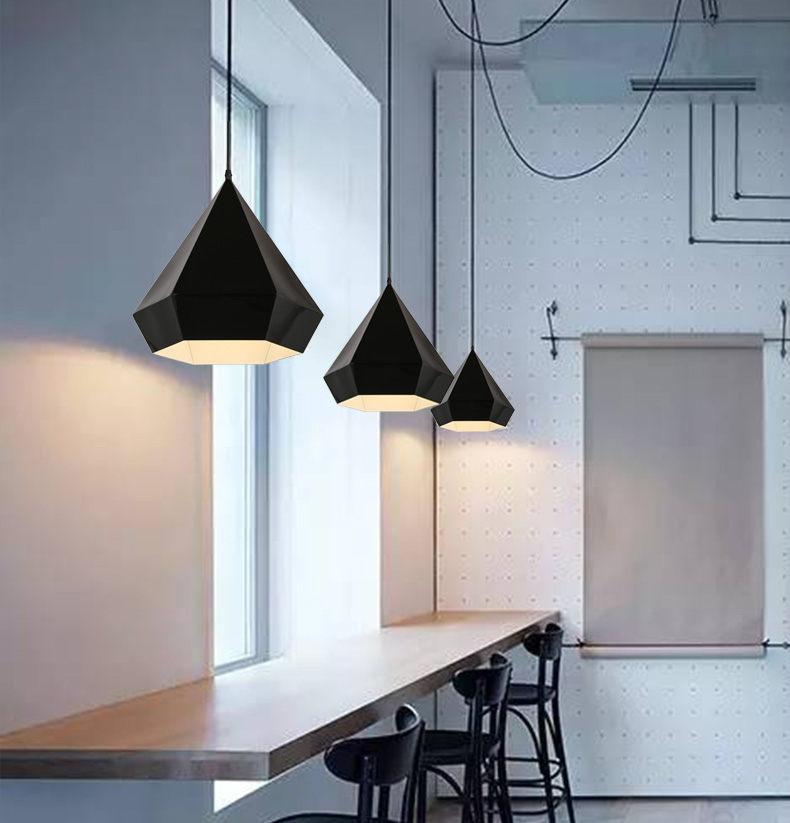 Nordic Style Art Deco Lighting Contracted Geometric 1 Lamp Indoor Lighting Restaurant Personality Led Pendant Light<br><br>Aliexpress