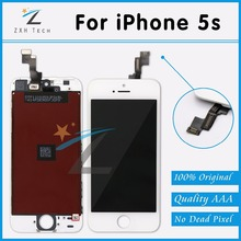 50 PCS/LOT New Original for Apple iPhone 5S LCD Retina Touch Screen Display Digitizer AAA No Dead Pixel Free DHL Shipping(China (Mainland))