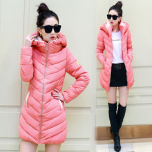 2016 New winter Women's Fashion Clothing long thick Cotton female down jackets coats tracksuit Down & Parkas wt0012