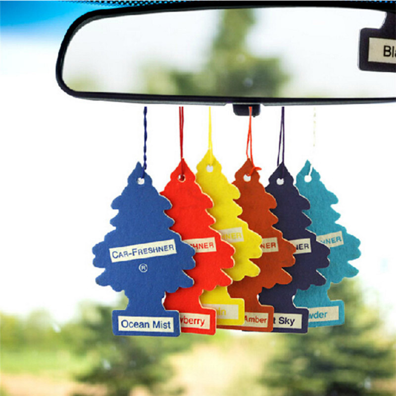 little trees perfume/fragrance mixed Hanging Paper Car Air Freshener for Car, Home & Boat(China (Mainland))