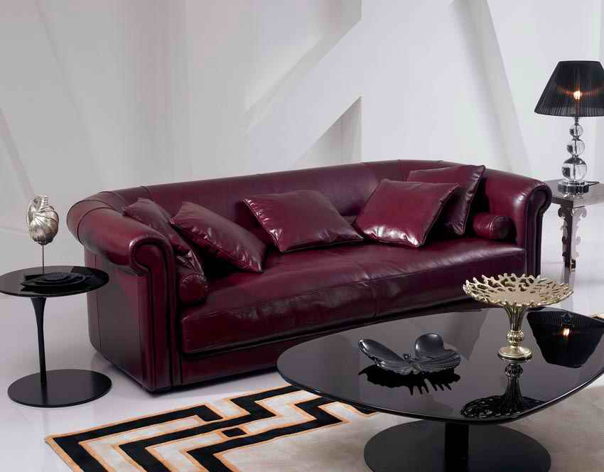 2015 new arrival genuine leather chesterfield sofa for European leather sofa