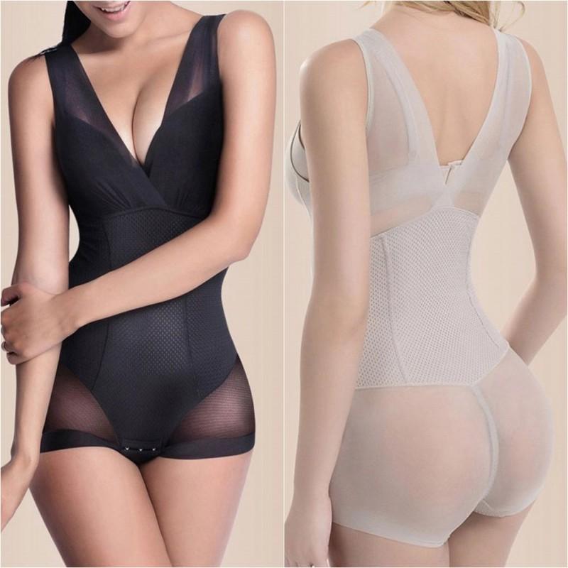 Shapewear Corrective Underwear Women Body Shape Tummy Control Bodysuit Under bust Tummy Control Under Bust CY1