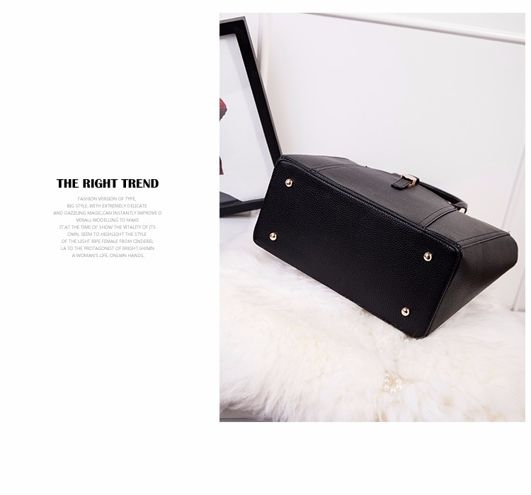 Fashion New Embossed Leather Handbag Women Retro Trendy Simple Bag High Quality Shoulder Bag Solid Color Crossbody