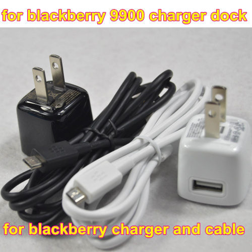 100% Genuine Original US Travel USB Wall Charger + Micro USB Data Sync Charging Cable for blackberry playbook(China (Mainland))
