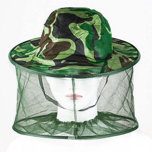 Fashion Mosquito Cap Women Men Midge Fly Insect Bucket Hat Fishing Camping Field Jungle Mask Face Protect Cap Mesh Cover 04D7(China (Mainland))