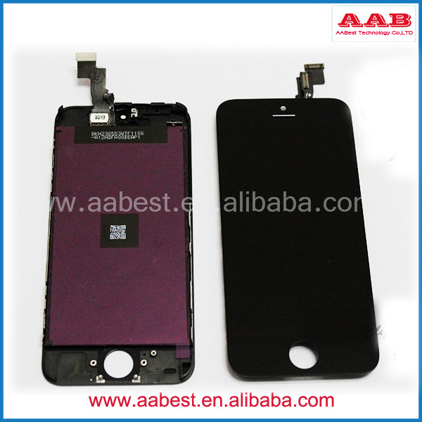 Top Quality LCD For Iphone 5 Glass Touch Screen Replacement(China (Mainland))