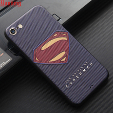 Coque Fundas Phone Cases iPhone 7 SE 5 5S 6 6S Plus 3D Relief Superman Captain America Soft Cover Tiger Flower Ironman - Shenzhen Yanlung Trade Co., Ltd store