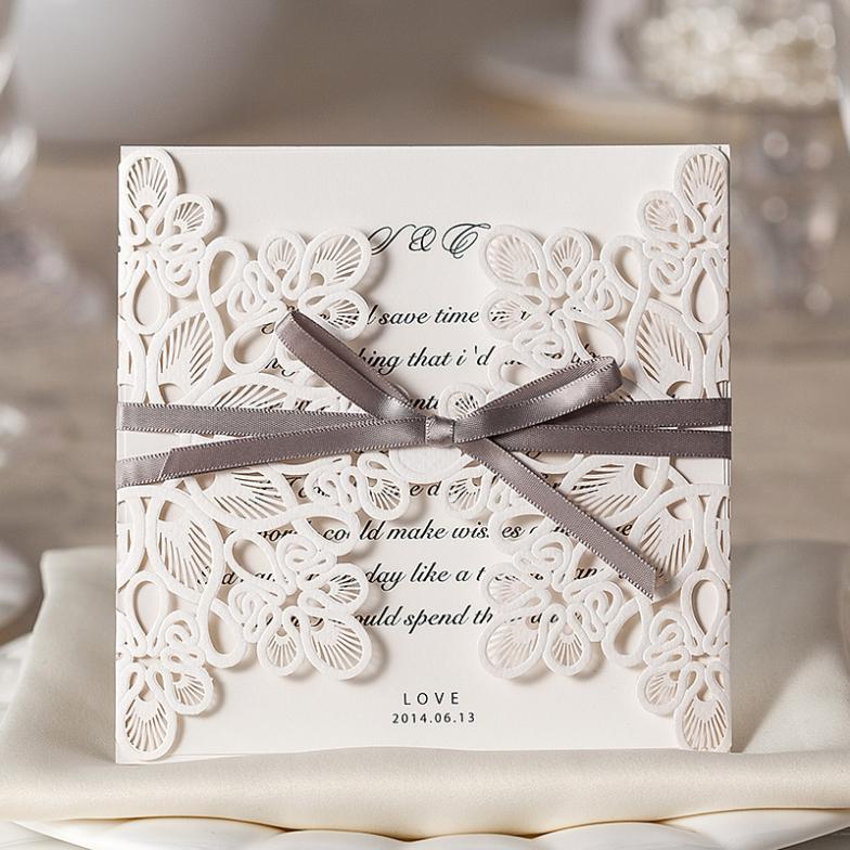 Primavera 30 pçs/set vezes envelope e selo do convite do casamento Laser Cut(China (Mainland))
