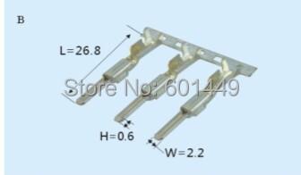 Electrical Equipment &amp; Supplies&gt;&gt;Connectors &amp; Terminals&gt;&gt;Terminals&gt;&gt;DJ611-2.2A-L<br><br>Aliexpress
