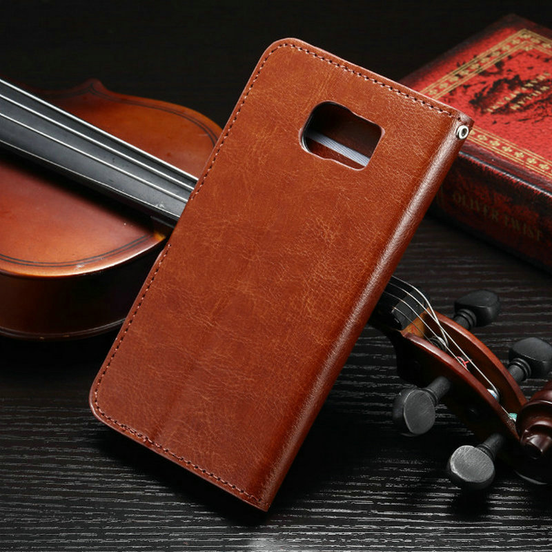 S7Case Luxury Retro Leather Wallet Flip Cover Case For Samsung Galaxy S7 /  S7 Edge / S7 Plus Photo Frame Stand Samsung S7 Case