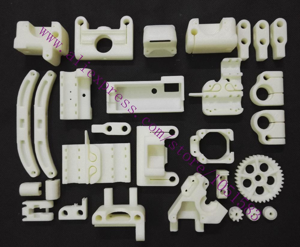 Reprap ToyREP 3D Printer Printed Parts ABS Plastic Parts KIT High Quality Free Shipping(China (Mainland))
