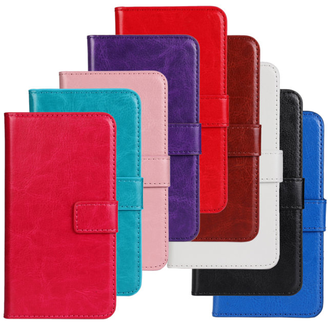 Retro Luxury Crazy Horse Flip Leather Wallet Case Folio Vintage Cover Accessories Card Slot Stand Motorola Moto G - Quella Store store