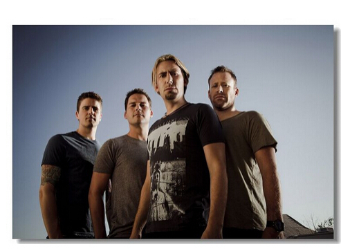 2015 New Wall Sticker Plakat affisch Poster Home Decor Nickelback Chad Kroeger From Canada Classic Wall Posters Free Shipping(China (Mainland))