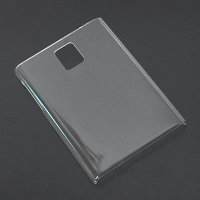 Crystal Transparent and white Back Protector hard Case skin cover For Blackberry Q30 Passport Free Shipping(Hong Kong)