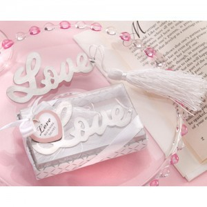 10pcs/lot Free Shipping Love Shape Promotion Bookmark Antique Silver Fashion Bookmarks With Tassels Wholesale BM007(China (Mainland))