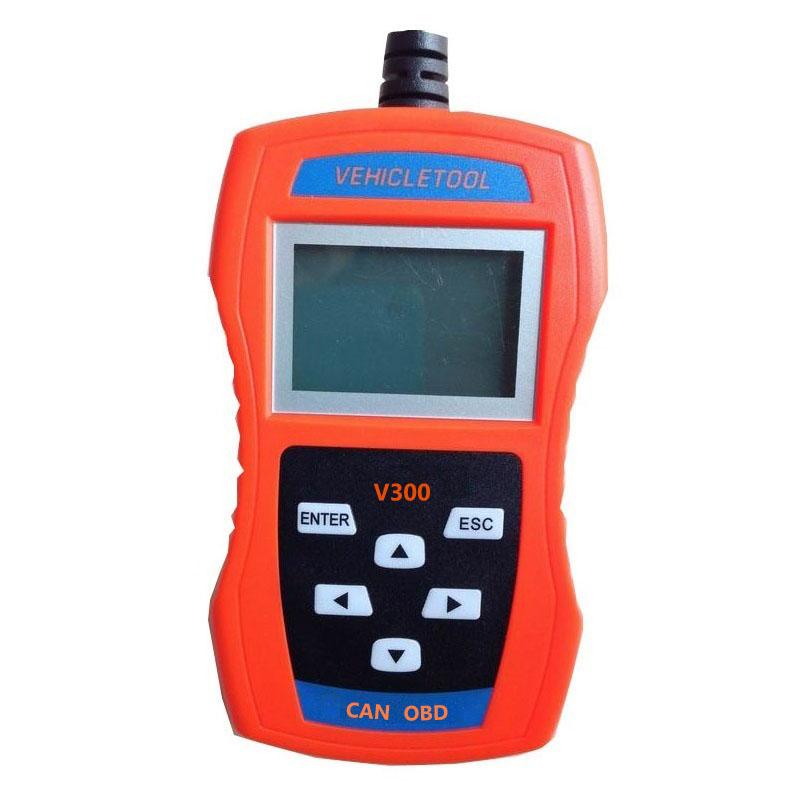 V300 Scaner Obd2 Scanner CAN OBDII/EOBDII Odb2 Code Reader Automotive Tools 2016(China (Mainland))