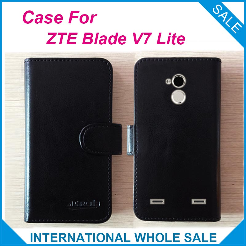 Hot! 2016 ZTE Blade V7 Lite Case, 6 Colors Leather Exclusive Cover tracking  -  lin-go's store store