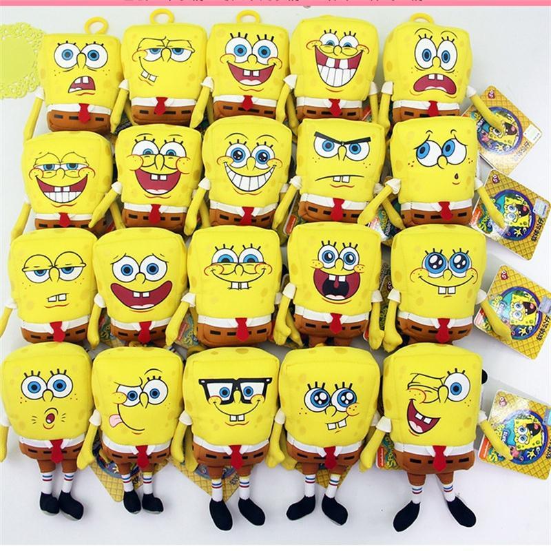 The original authorization nano spongebob plush toys Creative children's day gift gift company activities free shipping(China (Mainland))