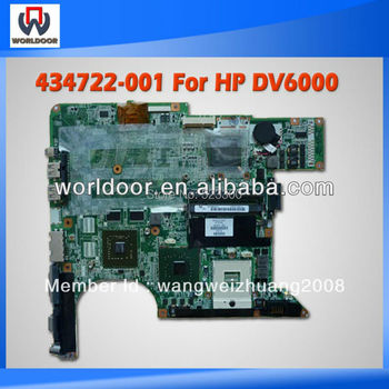 Hot Sell For Hp DV6000  Laptop Mainboard 434722-001