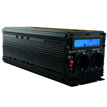 LCD display UPS inverter pure sine wave 2500W 5000W(peak)12v to 220v Inverter+Charger & UPS,Quiet and Fast Charge power supply(China (Mainland))