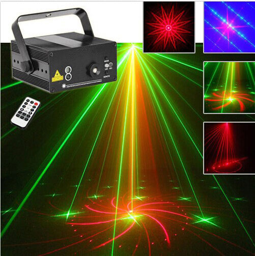 Гаджет  40Patters Disco light Red Green Laser Projector Party Dj Lighting With Remote Controller Mini Easy To Install Party Lights Lazer None Свет и освещение