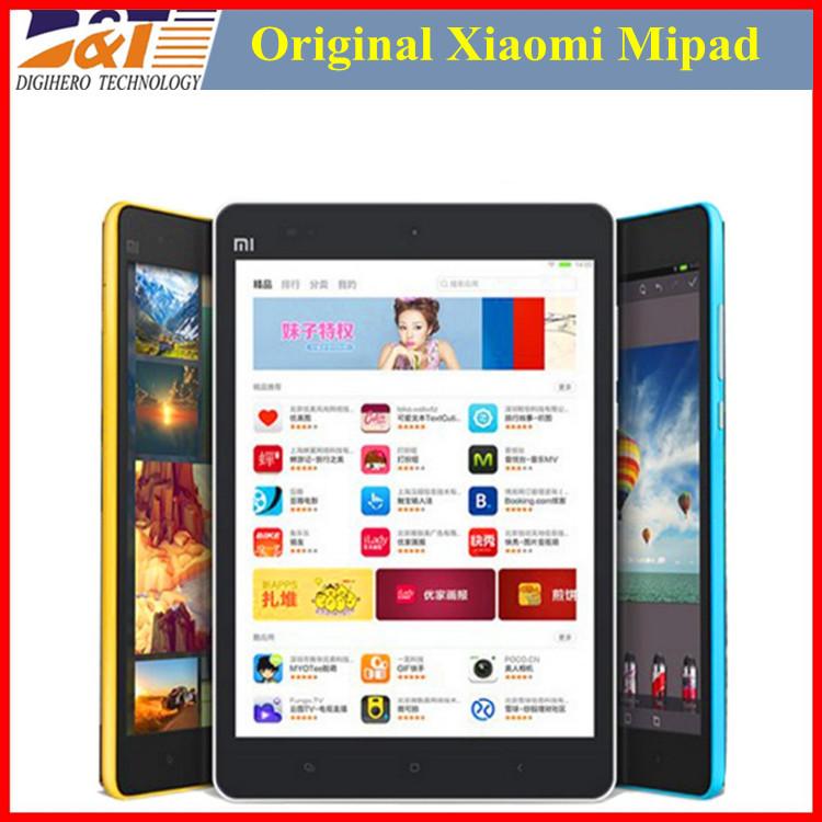 Original Xiaomi Mipad Mi Pad Tablet Nvida Tegra K1 Android 4.2 Quad Core PC Xiaomi Mi Pad 7.9 Inch IPS 64GB Rom 2GB RAM 8.0MP(China (Mainland))