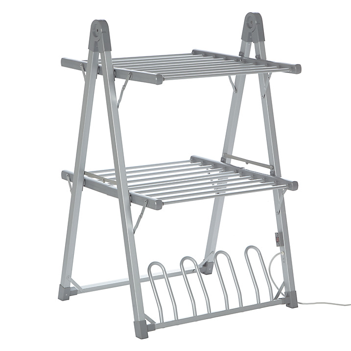 SHARNDY Outdoor Indoor Aliuminum Clothes Drying Rack Heated Airer Dryer Hanger A Rack Foldaway Portable(China (Mainland))