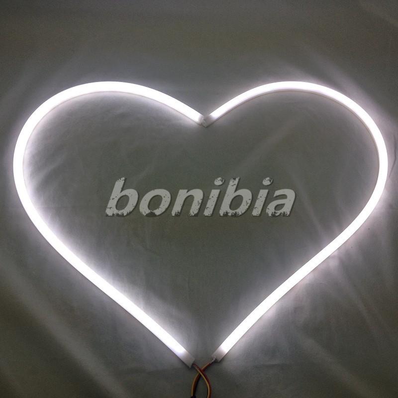 2 X 60cm Tube Style White Amber Switchback Headlight LED Strip Daytime Running Light U0059(China (Mainland))