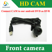 front camera usb port connect android dvd , DVR front camera(China (Mainland))