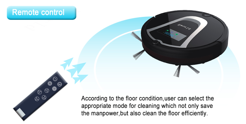 Eworld M884 Robot Cleaner Intelligent Robot Vacuum Cleaner Self-Charging& Side Brush for Home,Remote Control, Aspirator(China (Mainland))