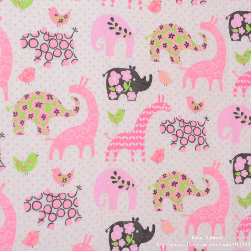 Popular flannel fabric for children buy cheap flannel for Baby dinosaur fabric