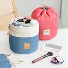 2 Colors organizer bag Travel bulk Drawstring Cosmetic multi functional storage bag in bag Handbag Storage box New C23(China (Mainland))