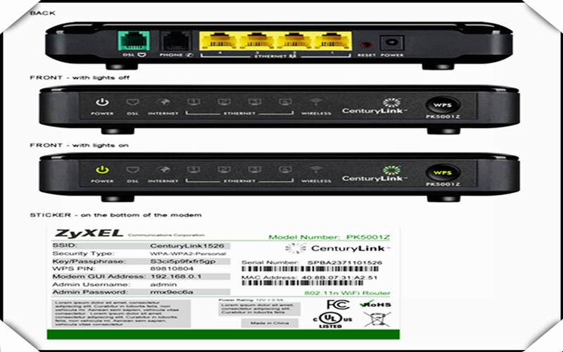 centurylink zyxel pk5001z adsl2 adsl2 modem wireless router with rh dhgate com PK5000Z Router Screenshots PK5001A Sticker
