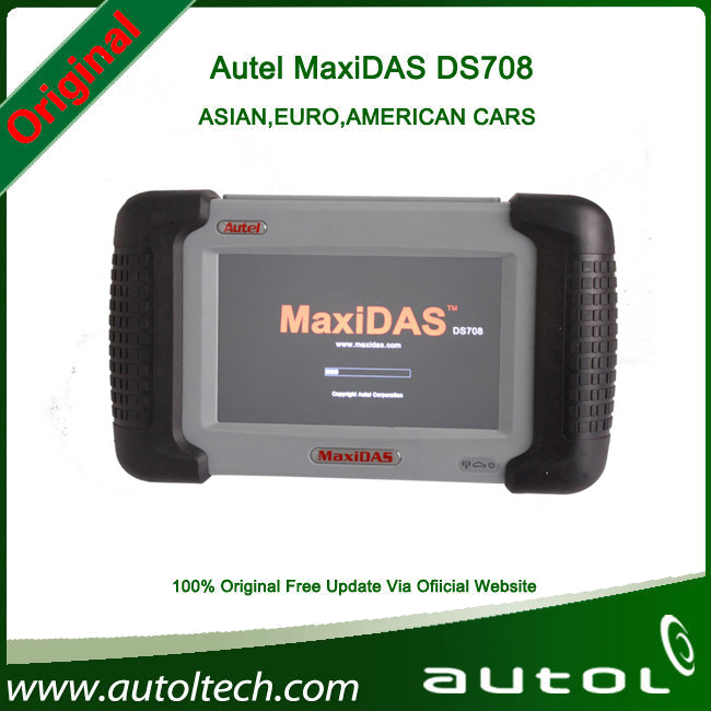 2015 Professional ds-708 Auto Diagnostic Scanner Autel Maxidas DS708 DS 708 Update via Internet Multi Language DHL Fast(China (Mainland))