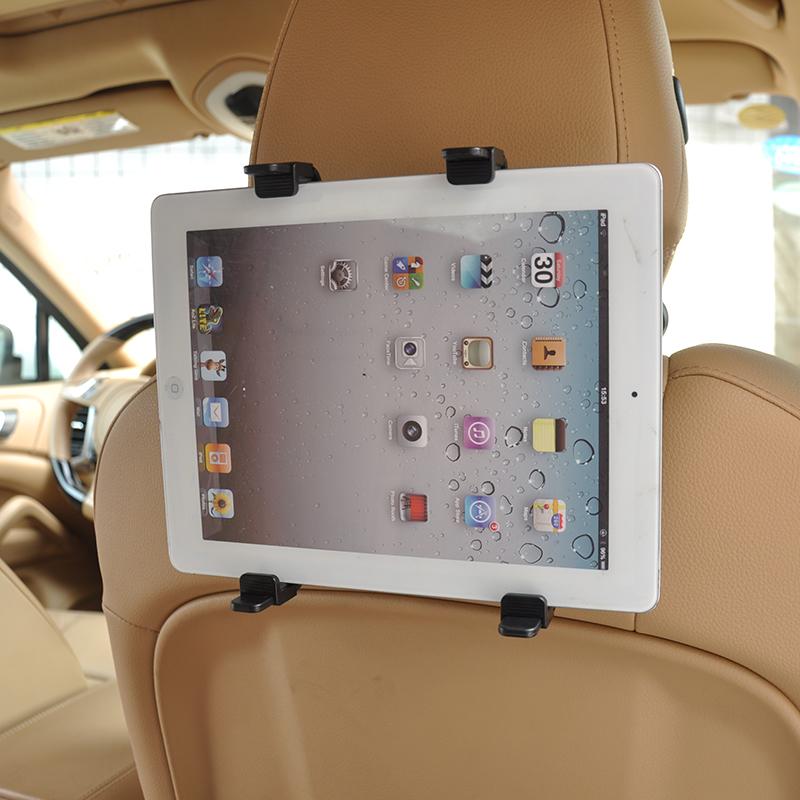 Car Headrest Mount Holder for GPS Ipad Mini/4/3/2 Galaxy Tab Note Asus Samsun Lenovo Dell Acer HP LG Toshiba Google Tablets(China (Mainland))