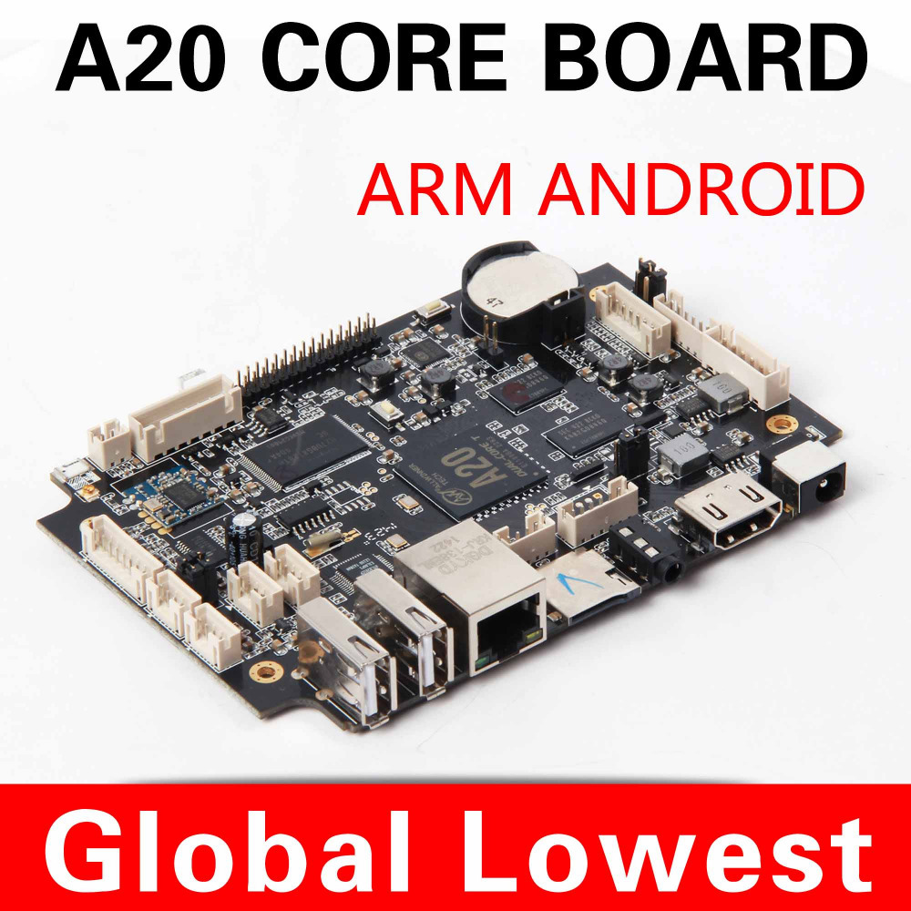 hot sale android board Intelligent motherboard allwinner motherboard with TF card/ wifi Advertising machine dedicated(China (Mainland))
