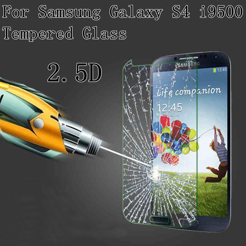 Защитная пленка для мобильных телефонов 2.5d 9H Samsung Galaxy S4 i9500 0,3 HD защитная пленка luxcase для samsung galaxy s4 mini