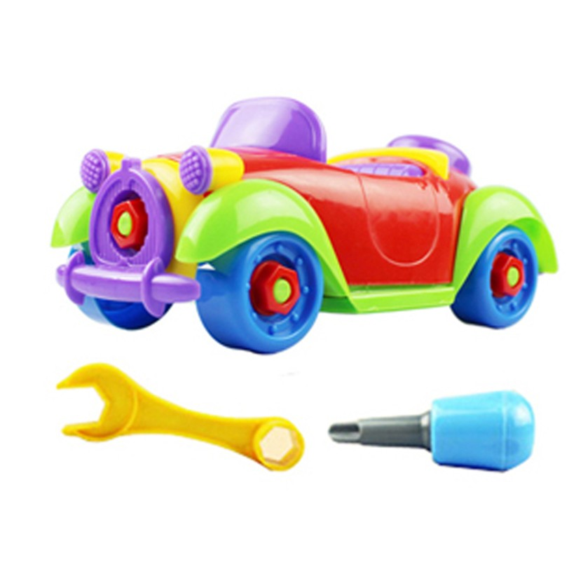 Best seller Free Shipping Christmas Gift Kids Baby Child Boy Disassembly Assembly Classic car Toy Mar23(China (Mainland))