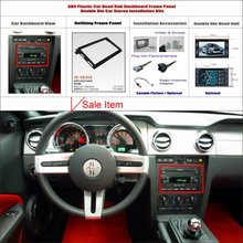 2 DIN ABS Plastic Frame Panel FORD Mercury Explorer Aftermarket Radio Stereo DVD Player GPS Navigation Installation - ACP Store store