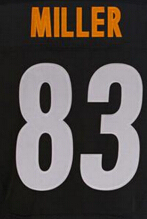 7 Ben Roethlisberger jersey 43 Troy Polamalu 26 leveon bell 84 Antonio Brown 12 Terry Bradshaw stitched sports shirts(China (Mainland))
