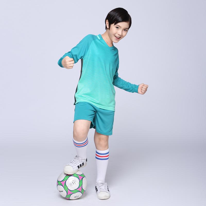 Boys and Girls Football Training Jerseys Suits Customized Uniforms Tshirts+shorts Kits Youth Kids Tracksuits Soccer Jerseys Sets(China (Mainland))