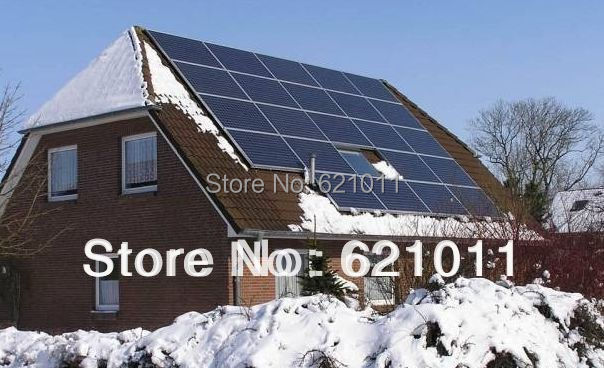 tsunenergy 7KW solar generaror , home solar energy system include solar panel,7kw solar inverter and other parts,no battery(China (Mainland))